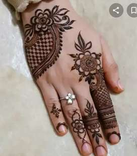 Beauty parlour  and mendhi