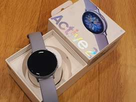 Samsung Active2 watch LTE 44mm cloud silver lite used 4months old bill