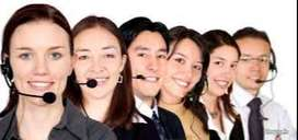 we required male/female candidates for tele caller job