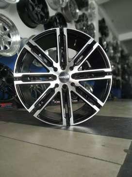 Jual velg racing HSR Ring 17 Untuk Honda jaaz, Yaris(bisa credit)