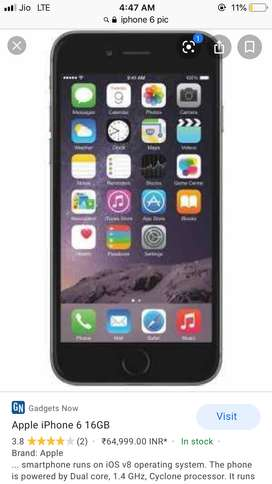 IPhone 6 32gb first hand with box
