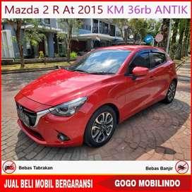 Mazda 2 R matic 2015 KM 36rb ANTIK Bisa Kredit