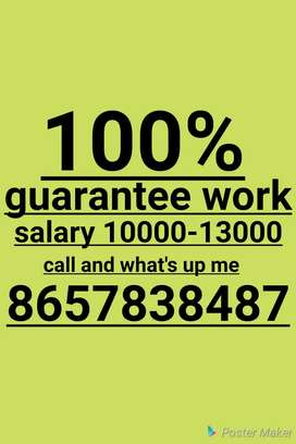 Work from home best opportunity