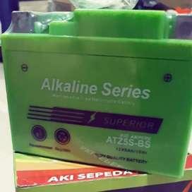 Aki alkaline mf 5 ah accu honda beat
