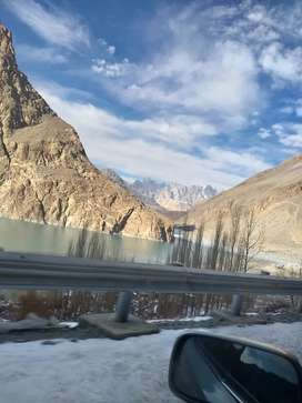 40 kanal Land For Industry In Famous Point Ata Abad Lake