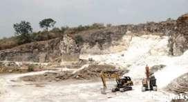 tanah bercampur batukapur
