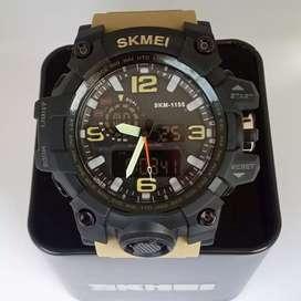 Skmei 1155 original waterresist jam tangan malang free cod