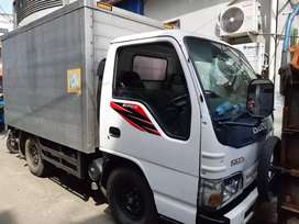 Isuzu elf 100ps NKR ban 4 th 2012 bok alumunium panjang 4.4m power