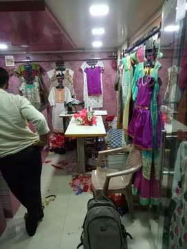 The shop is the sale airoli prime location