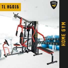 Alat Fitness Home Gym 3 Sisi Multifungsi Bisa COD Udah Sama Dirakit