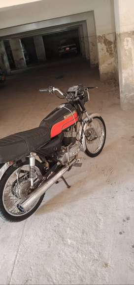 Kawasaki GTO 110 USED BIKE 1988 model Hyderabad number