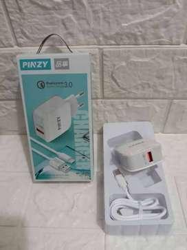 PROMO NIH-CHARGER CARJER CAS TC HP PINZY T 18 1 USB TYPE C 3A ISI DAYA