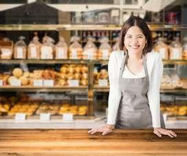 Female/Girl Helper for Shop