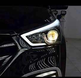 Hyundai creta led projector headlights made in Taiwan