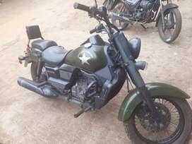 Transferred in Miraj city all clear bike