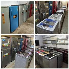 5 SAAL WARRANTY FULLY AUTOMATIC WASHING MACHINE WITH DELIVERY fridge