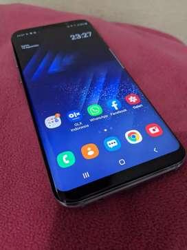 Samsung S8+ single sim ram 4/64 gb mulus