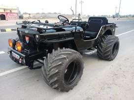 Jeep Gypsy Thar fully open