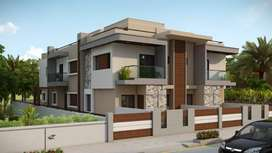 Booking of Super Luxurious 3Bhk Duplex/Bunglows in Adipur- J.J.ESTATE