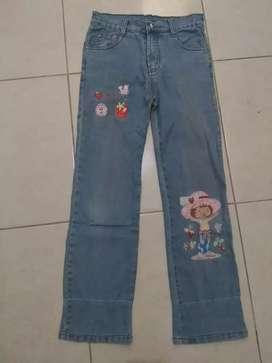Celana jeans strawberry