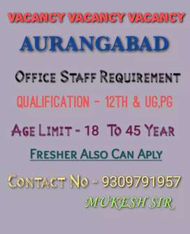 Office Staff Requirement