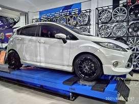 Velg Baru untuk Mobil Ford Fiesta Ring 17 Heiya HSR Wheel