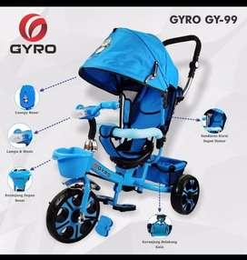 Sepeda Anak Merk Gyro Warna Biru