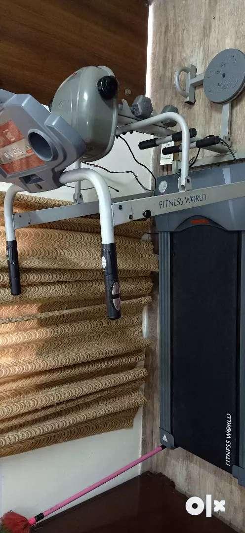 Fitness World treadmill 4 in 1 0