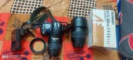 Nikon D3100 18-55 mm lens, Tamron lens 70-300 telephoto