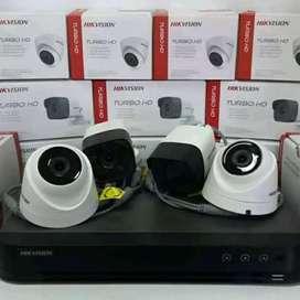 Paket Kamera Cctv 4 Channel 2 Kamera Komplit Tinggal Pasang