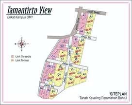 Tanah Kapling Di Jogja, Cocok Untuk Kost, Unit Terbatas