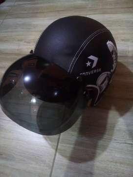 helm, masi bgs, edisi salah beli, dr beli baru blm di pakai