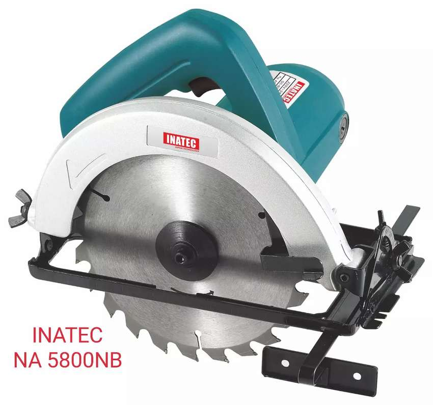 "Mesin Circular Saw/Potong Kayu 185mm (7 1/4 "") NA 5800VP 0"