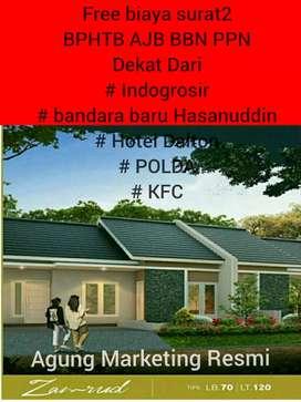 Rumah depan Coca Cola Makassar peRintis