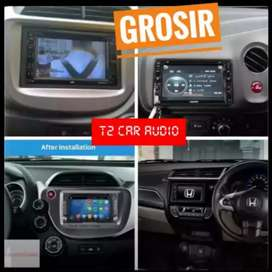 Promo dvd 2din for mobilio brio jazz android link 7inc plus camera hd