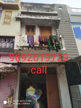 House with shop for sale at main road side at police station junction