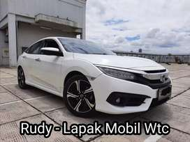 Honda Civic ES 1.5 Turbo AT 2016 Km 49Rb Pajak Panjang Tgn 1 Genap