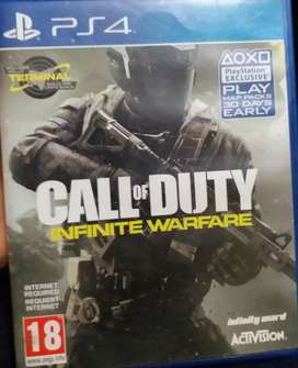 Ps4  call of duty infinity warfare