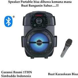 COD SPEAKER SIMBADDA CST836 RADIO, BLUETOOTH, USB, MIC 18W