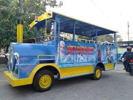 PAbrik wahan odong Odong2 Mobil Kereta mini Thomas wisata kelinci IIW