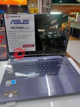 Jual Asus pro P1440FA Terbaik merauke | W10| RAM 4| 256 SSD
