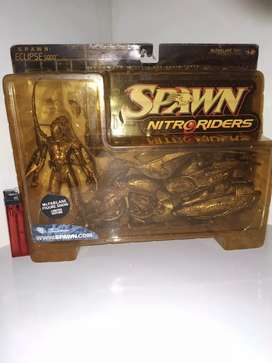 Action Figure SPAWN NITRO RIDERS LIMITED EDITION GOLD