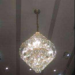 lampu chandelier cristal murah
