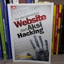 Buku Trik Mengamankan Website dari Aksi Hacking Oleh Efvy Zam
