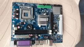 Dual core motherboard good conditions