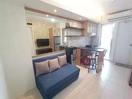 Di sewakan apartemen bassura city tipe 2bedroom furnish