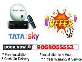 My Diwali Offer! 50% Off New Tata Sky - Tatasky, Airtel, Dishtv SD/HD!