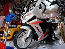 All varaties of battery operated cars and bikes are available