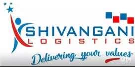 Parcel  delivery boys for shivangani logistics at margherita