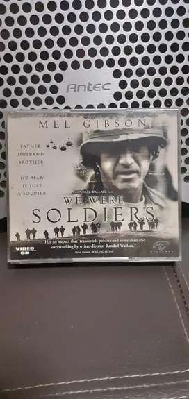 """VCD Original Mel Gibson """" WE WERE SOLDIERS"""" 3 Disc"""